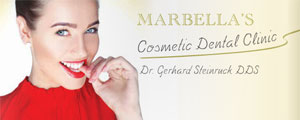 Ad for dentist marbella